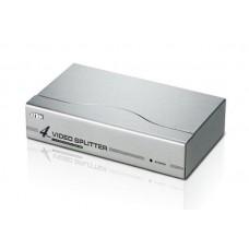 4'lü VGA Video Çoklayıcı (4 Port Video Splitter), 1920 x 1440 dpi, 350 MHz videobant genişliği   VİDEO ÇOKLAYICI