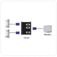 2 Port VGA Seçici , 2 giriş - 1 çıkış (2 Port Video Switch)