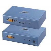 VGA KVM (Keyboard/Video Monitor/Mouse) Mesafe Uzatma Cihazı, 300 metre, PS/2 Konsol, ESD ve gerilimdeki ani yükselmelere karşı korumalı