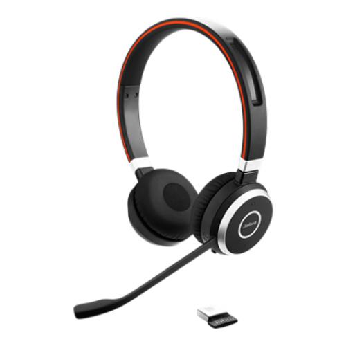 Jabra Evolve 65 Duo USB NC Kablosuz Kulaklık OPERATÖR KULAKLIKLARI