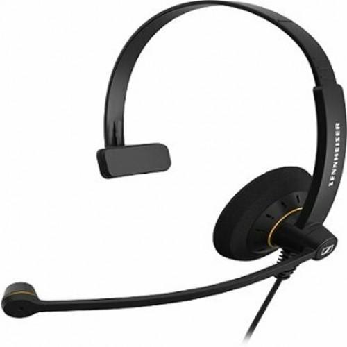 Sennheiser SC 30 Tek Taraflı Taçlı Kablolu HD Ofis Kulaklığı ve CSTD 01 Ara Kablo ile  KULAKLIK