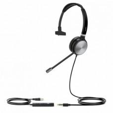 Yealink UH36-Mono Tek Taraflı USB ve 3.5mm Jacklı Kablolu UC kulaklığı OPERATÖR KULAKLIKLARI