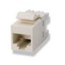 Category 6 (CAT.6) Modular Jack, SL Series, 110Connect, T568A/T568B, Zırhsız, almond (badem) renk