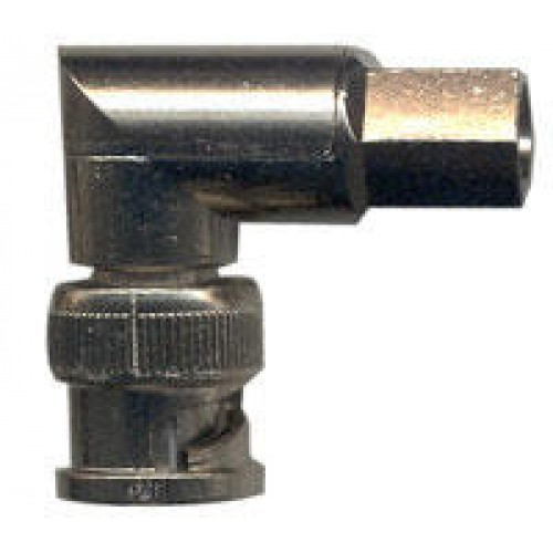 BNC Right-Angle Plug For RG59, 62; URM70; PSF1/3M; CT100   KABLO & KONNEKTÖR