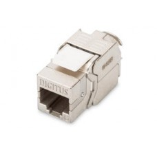 Digitus CAT 6 Keystone Jack, Shielded/Zırhlı, 250 MHz acc. ISO/IEC 11801:2002 AM2:2009/09, aletsiz sonlandırma özelliği  KABLO & KONNEKTÖR